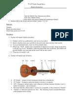 ukulele lesson 1