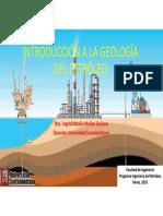 1introducción a La Geología Del Petróleo
