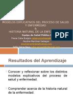 Modelos Explicativos Del Proceso de Salud y Enfermedad