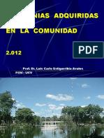 2012 u.c.v. Nac - Absceso Pulmonar - Bronquiectasias