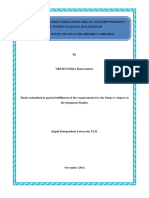 ADVOCACY OF WOMEN PARLIAMENTARIANS AND EMPOWERMENT OF WOMEN IN RURAL HOUSEHOLDS THE CASE STUDY OF GISAGARA DISTRICT (2008-2013)-COPY FOR ULK LIBRARY KIGALI