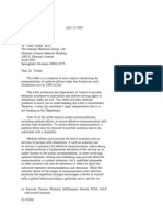 US Department of Justice Civil Rights Division - Letter - tal255