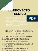 Elementos de Un Proyecto Técnico