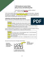 02 Sampling, Surveys, Gathering Data Complete