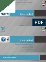 Capa de Red - Redes De Computadoras