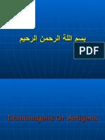 Lec6.Immunogenes or Antigens