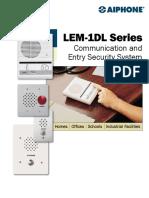 LEM 1DL Brochure