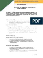 Modulo i Gestion Ambiental y Sig