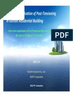 PTI 2012 Conference ApplicationsKorea ResidentialBuildings