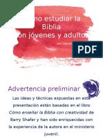 Cómo estudiar la Biblia con jóvenes y adultos