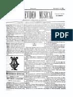 Montevideo Musical 13 - Setiembre 1885