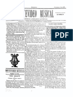 Montevideo Musical 14 - Setiembre 1885