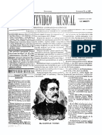 Montevideo Musical 15 - Setiembre 1885