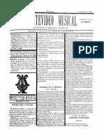 Montevideo Musical 16 - Setiembre 1885