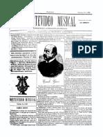 Montevideo Musical 18 - Octubre 1885