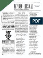 Montevideo Musical 21 - Noviembre 1885