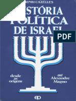 História Política de Israel - Desde as Origens Até Alexandre Magno - H. Cazelles
