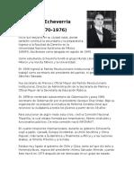 Sexenios Presidentes de Mexico