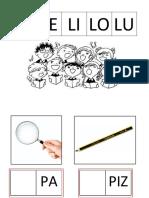 Cuadernillo lectoescritura silábica