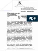 Carta Contralor - Fiscal