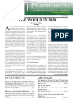 JUST Commentary, Vol. 10 No. 3, March 2010