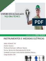 Aula Medidas Eletricas Aula 4 Instrumentos