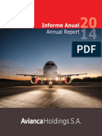 Informe de Gestion Avianca 2014