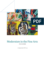 modernism in the fine arts- paul kyser- art appreciation new