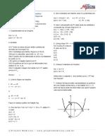 Exercícios de Matemática Funções Função Composta