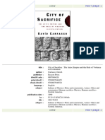 City of Sacrifice_ Violence From the Aztec Empire to the Modern Americas (1999)