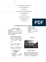Informe Movimiento Rectilineo