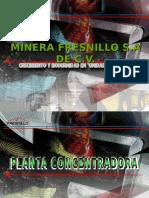 Presentación Planta Concentradora 2015-2