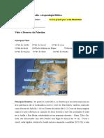 Exercício - Vales e Desertos Da Palestina