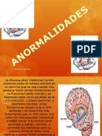 ANORMALIDADES INTELECTUALES