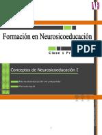 Conceptos de Nse I Neurosicoeducación en Preguntas