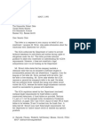 US Department of Justice Civil Rights Division - Letter - tal274