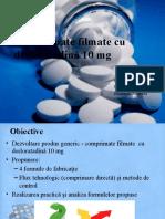 desloratadina comprimate