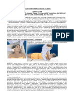 prospetto informativo per il paziente dolore cervicale