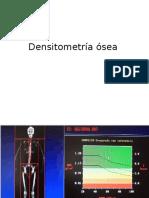 Densitometría ósea