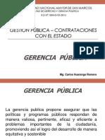 Gerencia pública y planeamineto estratégico