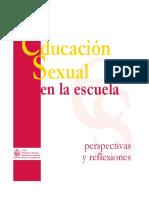 Educ Sexual en La Escuela
