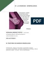 +TRASTORNO DE  LA ANSIEDAD  GENERALIZADA