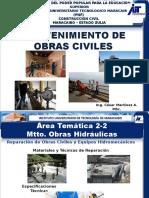 Area Tematica 2.2-Mtto Obras Hidraulicas