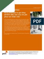 Pwc Vietnam Newsbrief Input Vat of Staff Welfare Expenses Vn