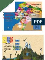 Ecuador y Sus Regiones