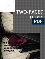 2 Faced Music