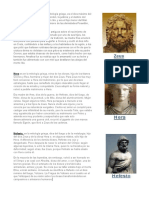 Dioses Griegos - Historia Universal