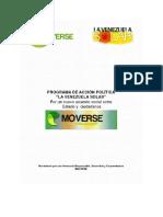 Moverse Ideario y Programa de Acción Política