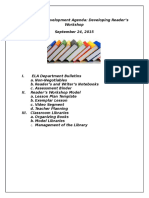professional development agenda 9 24 16