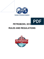 2016 PetroBowl Rules Regulations